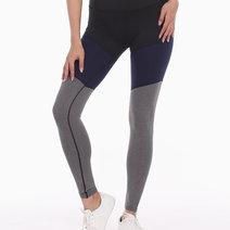 Tri-Colored Leggings Tights in Black/Blue/Gray by Meraki Sports