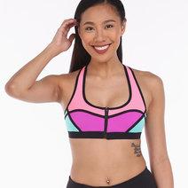 Neoprene Color Blocking Bra by Meraki Sports