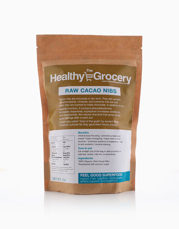 Raw Cacao Nibs by The Healthy Grocery