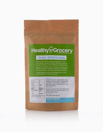 Raw Spirulina by The Healthy Grocery