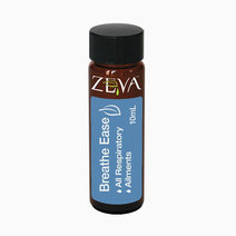 Zeva breath ease respiratory care  congestion  breathing difficulty  flu  colds  cough pure organic medicinal grade essential oil  undiluted (10ml)