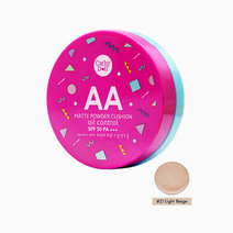 AA Matte Powder Cushion (15g) by Cathy Doll in #21 Light Beige