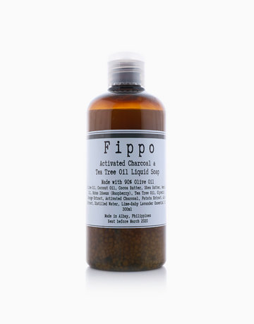 Tea Tree+Charcoal Castille Soap by Fippo Handcrafted Bath & Body