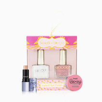 Gorgeous Goodies 2in1 (Charmed + UV Gel Top Coat) + Benefit Boi-ing Airbrush Concealer Sample + Watts Up Deluxe Sample Gift Set by Solique