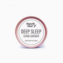 Happy island scented soy candle  deep sleep (2oz)