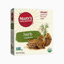 Organic Herb Original Seed Crackers by Mary's Organic Crackers
