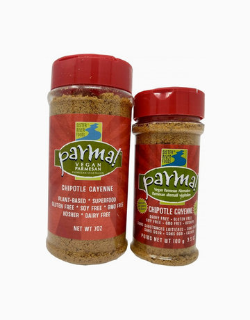 Chipotle Cayenne Parma by Parma! Vegan Parmesan