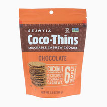 Chocolate Coco-Thins Cashew Cookies by Sejoyia