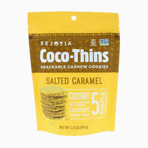 Salted Caramel Coco-Thins Cashew Cookies by Sejoyia