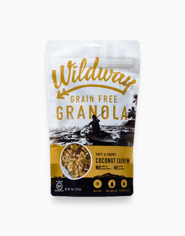 Coconut Cashew Grain-Free Granola  by Wildway