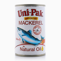 Mackerel in Natural Oil (155g) by Unipak