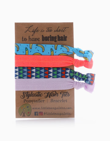 Tropical Banana Hair Ties by Little Tree Palette