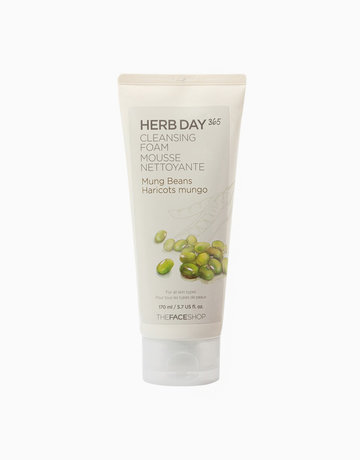 365 Cleansing Foam (Mung Beans) by The Face Shop