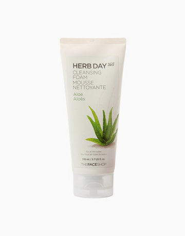 365 Cleansing Foam (Aloe) by The Face Shop