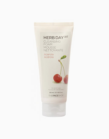 365 Cleansing Foam (Acerola) by The Face Shop