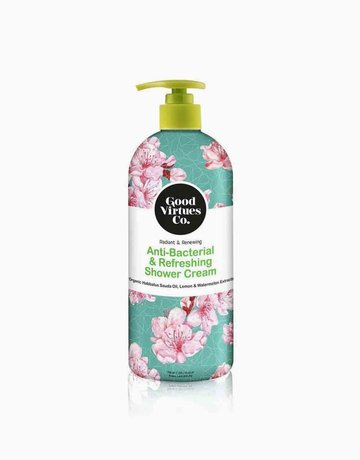 Anti-Bacterial & Refreshing Shower Cream by Good Virtues Co