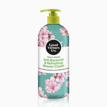Good virtues co. anti bacterial refreshing shower cream