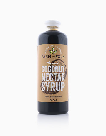 Organic Coconut Nectar Syrup (500ml) by Farm to Folk