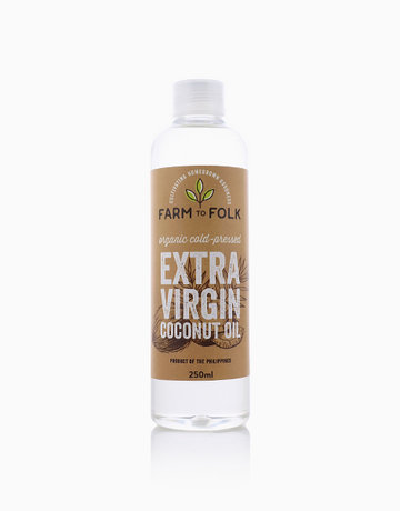 Organic Cold-Pressed Extra Virgin Coconut Oil (250ml) by Farm to Folk