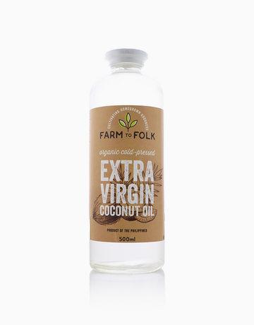Organic Cold-Pressed Extra Virgin Coconut Oil (500ml) by Farm to Folk