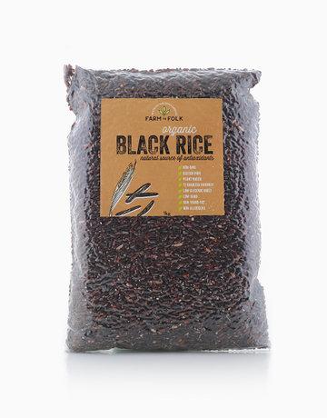 Organic Black Rice (1kg) by Farm to Folk