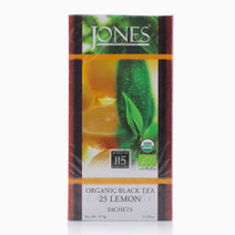 Jones Tea Organic Black Tea Lemon (25 Pcs.) by Jones Tea