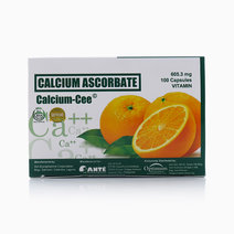 Calcium Ascorbate Calcium-Cee (605.3mg 100 Capsule Vitamin) by Optimum Nutrition