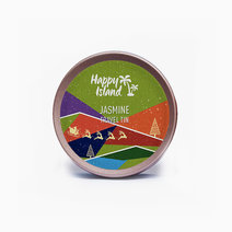 Happy island scented soy candle  jasmine 2oz (christmas edition)