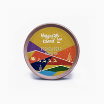 Christmas Edition French Pear Scented Soy Candle (2oz) by Happy Island