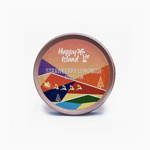 Christmas Edition Strawberry Lemonade Scented Soy Candle (2oz) by Happy Island