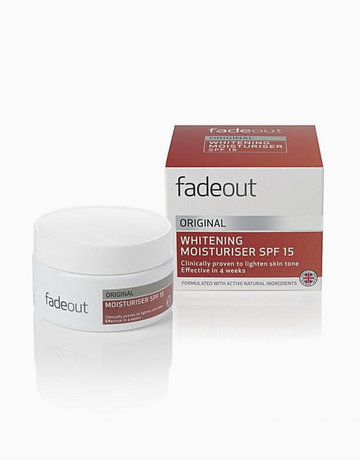 Original Whitening Moisturizer SPF15 by Fade Out Skincare