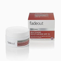 Fade out original whitening moisturizer spf 15