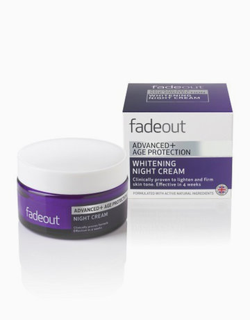 Advanced + Age Protection Whitening Night Cream by Fade Out Skincare