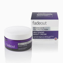Fade out advanced   age protection whitening night cream