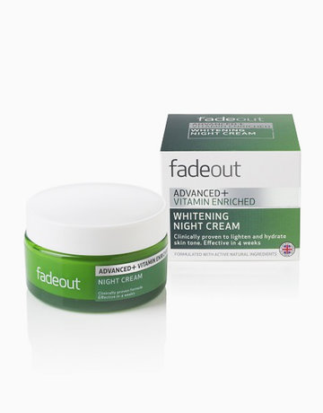 Advanced + Vitamin Enriched Whitening Night Cream by Fade Out Skincare