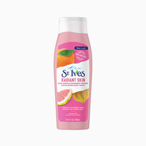 St. ives body wash even and bright pink lemon and mandarin orange 13.5oz front