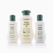 Mini Baby Care Starter Set (Original Powder Scent) by Human Nature
