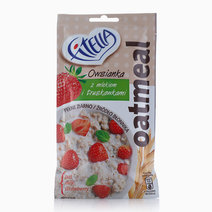 Oatmeal with Milk and Strawberries (50g) by Fitella