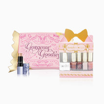 BENEFITXSOLIQUE Instant Gel Polish Gorgeous Goodies 6in1 + Benefit Candy Wrapper Pouch + Watts UP Deluxe Sample Gift Set by Solique