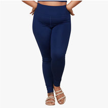 "Compressive High-Rise Legging With 23 3/4"" Inseam in Indigo by Girlfriend Collective"