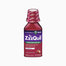 ZzzQuil Nighttime Sleep Aid (Calming Vanilla Cherry Liquid Flavor) by ZzzQuil