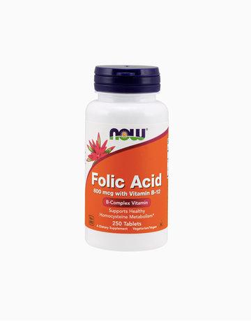 Folic Acid 800 mcg with Vitamin B-12  by NOW