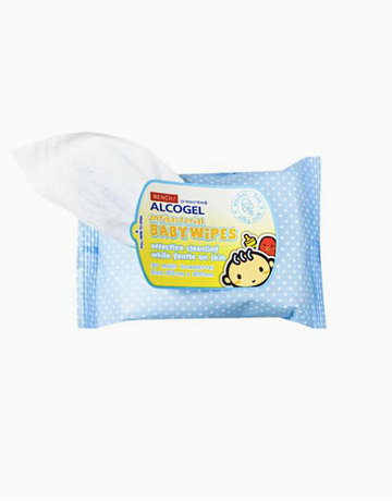 Alcogel: Antibacterial Baby Wipes (30 Sheets) by BENCH