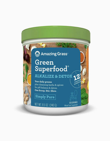 Green Superfood Alkalize & Detox (240g) by Amazing Grass