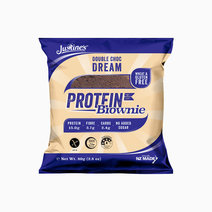 Double Chocolate Dream Protein Brownie (80g) by Justine's