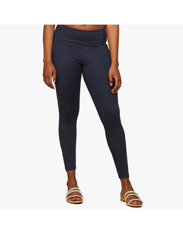 "Compressive Classic-Rise Legging With 23 3/4"" Inseam in Midnight by Girlfriend Collective"