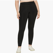 "Compressive Classic-Rise Legging With 23 3/4"" Inseam in Black by Girlfriend Collective"