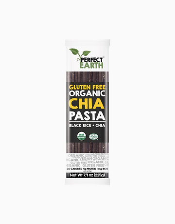 Organic Chia Pasta Black Rice (225g) by Perfect Earth