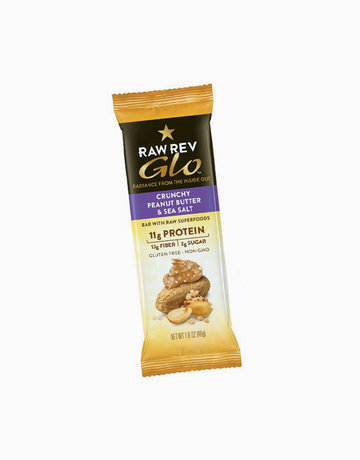 Crunchy Peanut Butter & Sea Salt (46g) by Raw Rev Glo