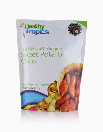 Camote Chips Sour Cream, 100g by Healthy Tropics